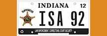 ISA Specialty License Plate